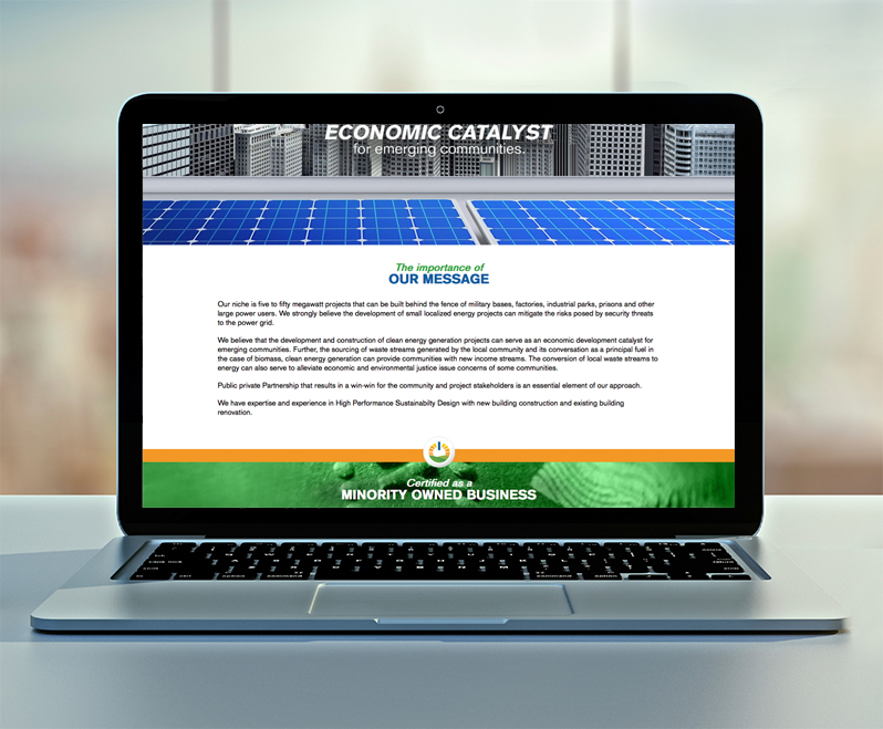 Rural Green Power Website Design